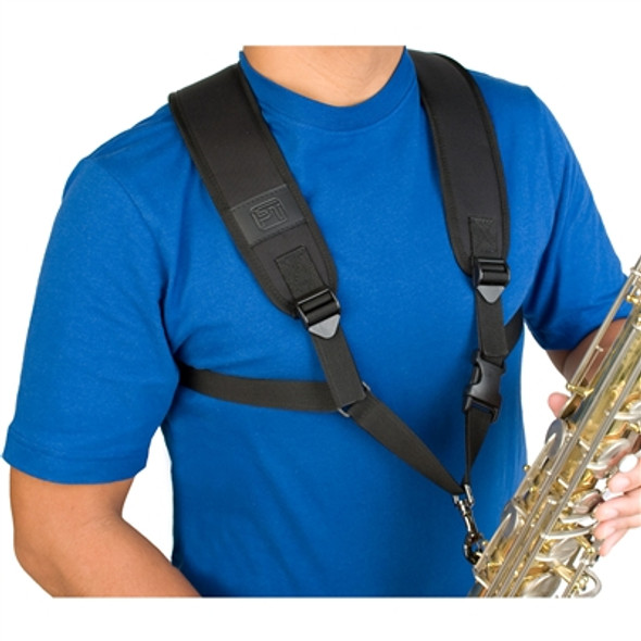 Protec Saxophone Harness with Deluxe Metal Trigger Snap
