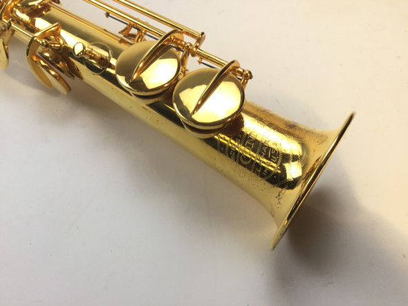 Used Conn Gold Plated Soprano Saxophone (SN: M147337)