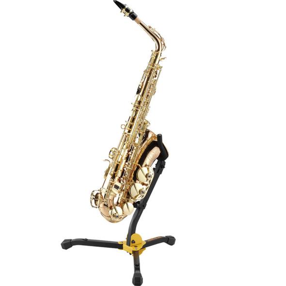 Hercules DS530BB Alto/Tenor Saxophone Stand w/ Bag