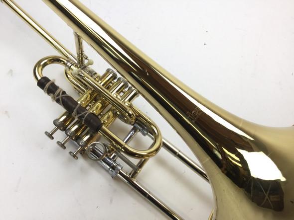 Used Holton TR395 Superbone Bb Slide/Valve Trombone (SN: 538337)