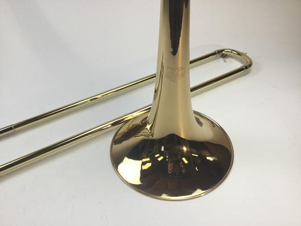 Used Bach 50B2OGH Bb/F/D Bass Trombone (SN: 176781)