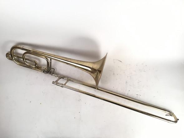 Used Conn Elkhart 71H Bb/F Bass Trombone (SN: M91846)