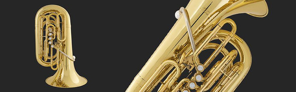 Willson Model 3400C Compact 5 valve Eb Tuba