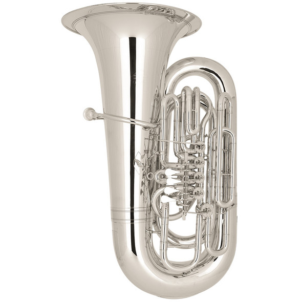 Miraphone Siegfried 98 BBb Tuba Silver Plate