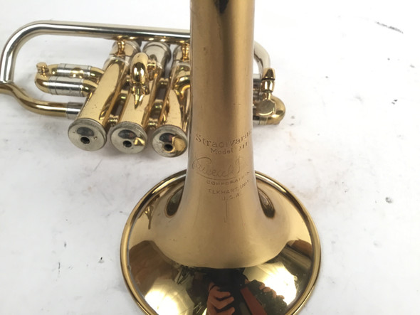 Used Bach Model 311 Bb Piccolo Trumpet (SN: 120064)