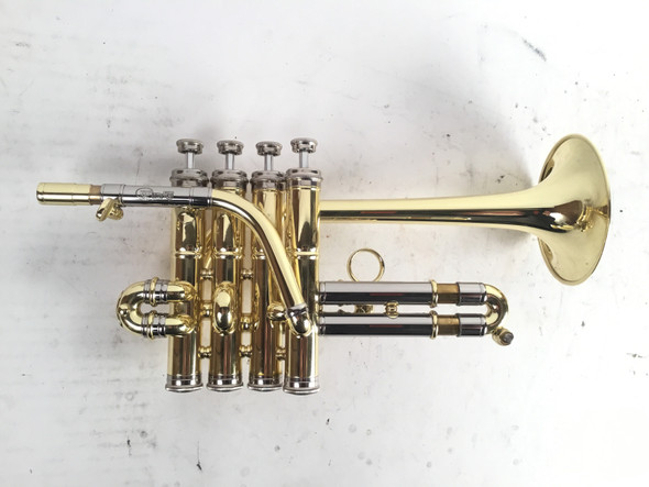 Used Fides FTR8090 Symphony Bb/A Piccolo Trumpet (SN: 105640)