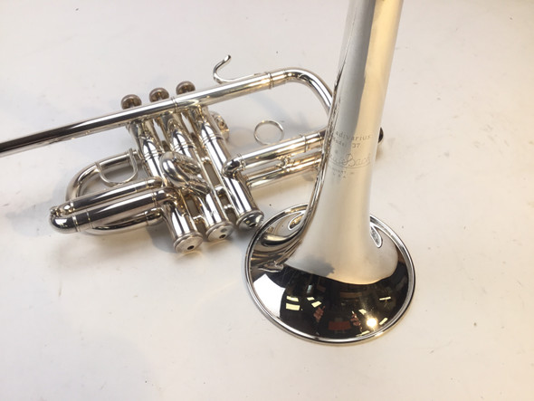 Used Bach 185 Bb Herald Trumpet (SN: 494917)