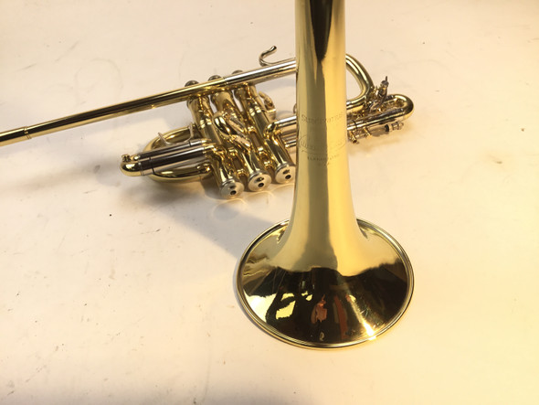Used Bach 185 Bb Herald Trumpet (SN: 274213)