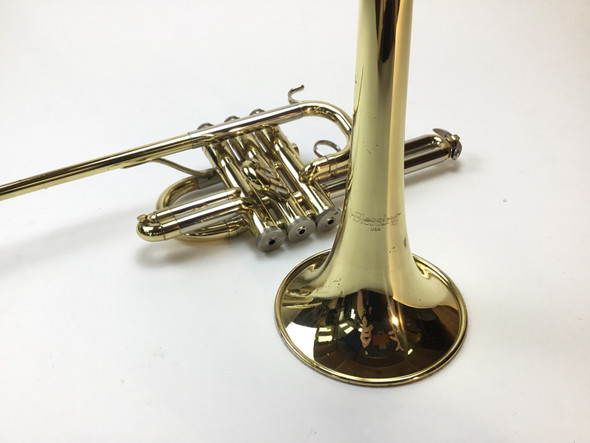 Used Blessing Bb Herald Trumpet (SN: 547433)