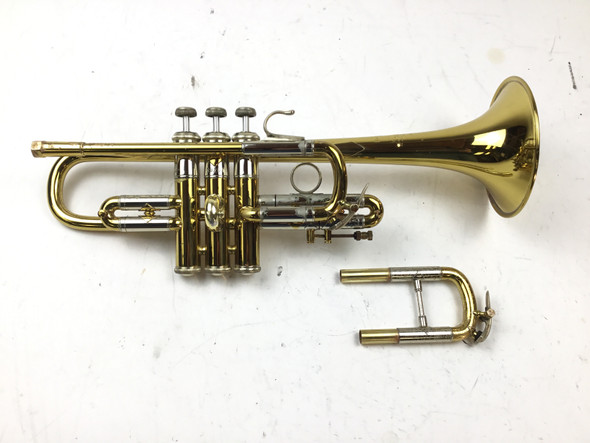 Used Bach 304 Eb/D Trumpet (SN: 39207)