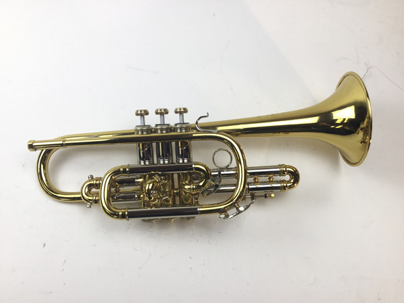 Used Bach New York Bb Cornet (SN: 6156)