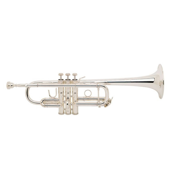 Bach 229/25H C Trumpet Silver Plate