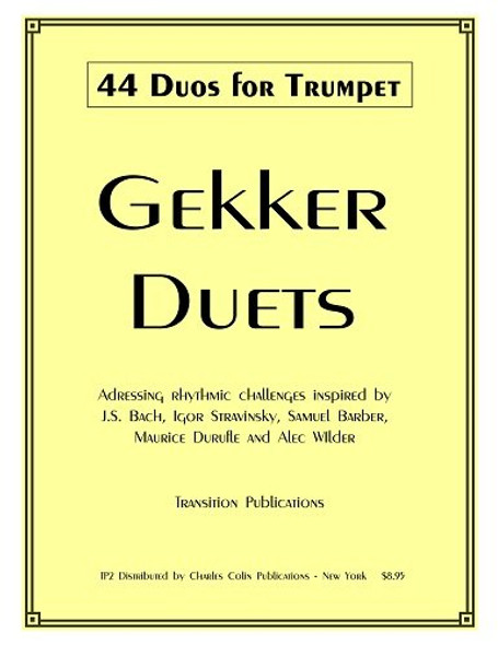 Gekker 44 Duos for Trumpet