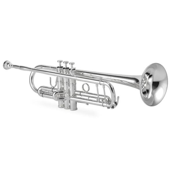 Jupiter 1602S Bb Trumpet Silver Plate