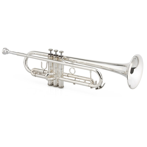 Jupiter 1602S-LTR Bb Trumpet Silver Plate