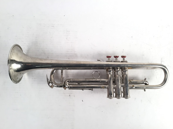 Used French Besson Brevette Bb Trumpet (SN: 100173)