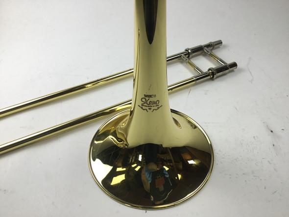 Used Yamaha YSL-822Uii Bb/F Tenor Trombone (SN: 440992)