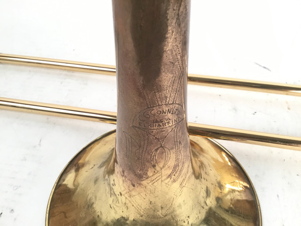 Used Conn Elkhart 8H Bb Tenor Trombone (SN: 674902)