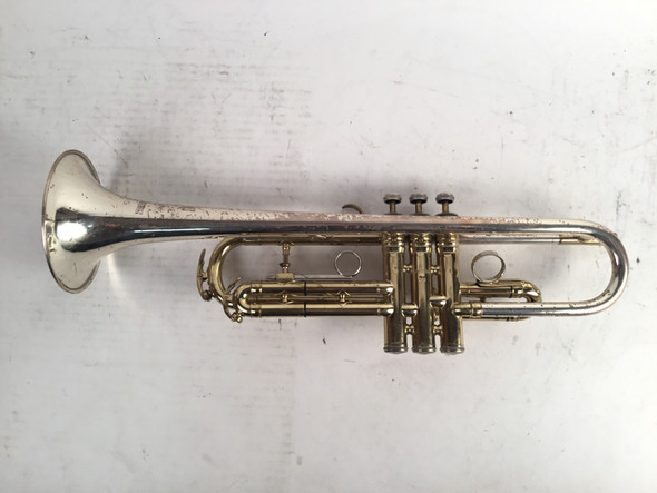 Used King Silver Sonic Super-20 Symphony Bb Trumpet (SN: 407324)