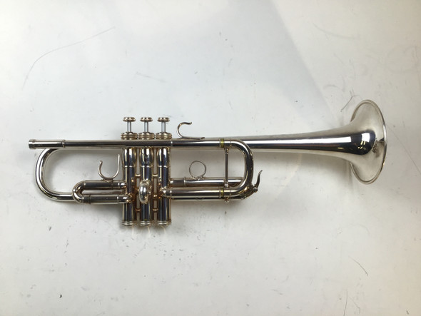 Used S.E. Shires 5F C Trumpet (SN: 1953)
