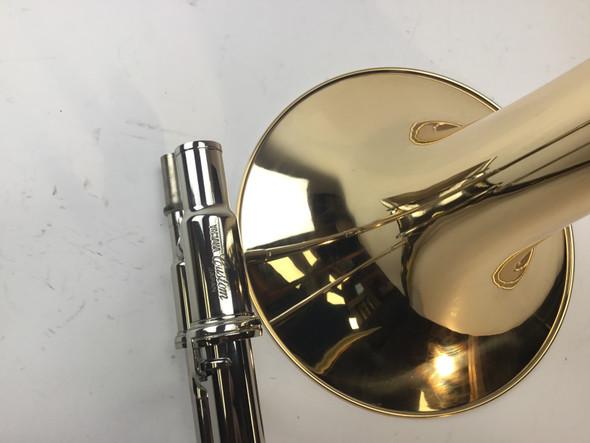 Used Yamaha YSL-8420G Bb/F Trombone (SN: 001006)