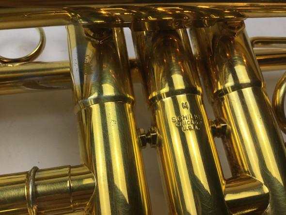 Used Schilke S42L-Faddis Bb Trumpet (SN: 54012)
