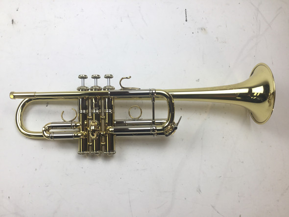 Used Bach AC190 C Trumpet (SN: A4085)
