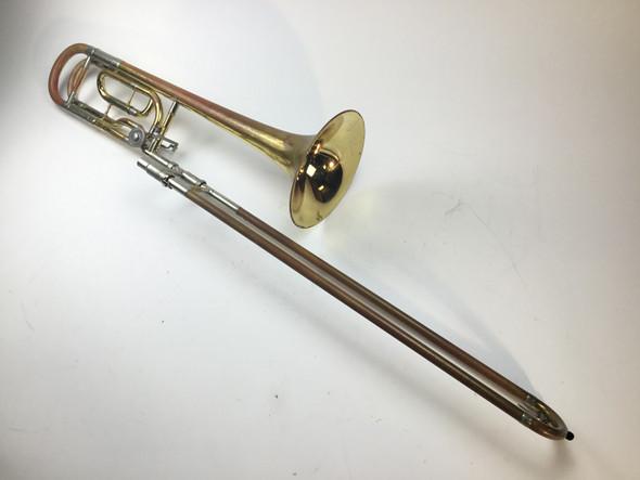Used Yamaha YSL-882U Bb/F Tenor Trombone (SN: 001059)