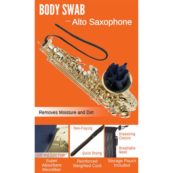 Protec Body Swab: Alto Saxophone
