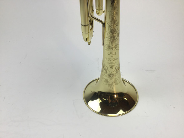 Used S.E. Shires CVLA-ML Bb Trumpet (SN: 2637)
