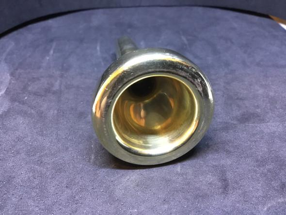 Used Schilke Symphony D5.1* Gold Plate Large Shank Trombone [577]
