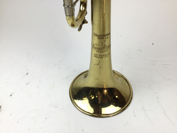 Used Bach Mt. Vernon 43 Bb Trumpet (SN: 13491)