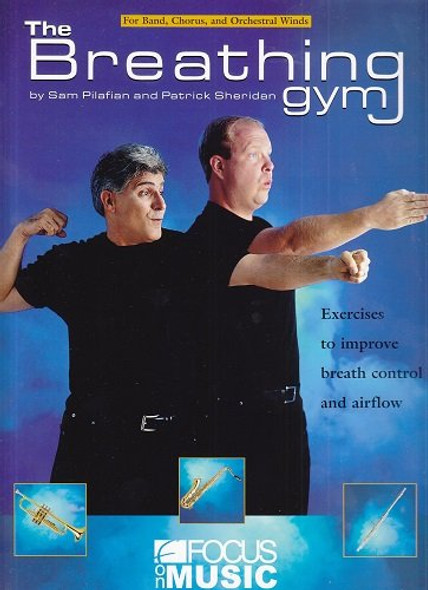 The Breathing Gym Book & DVD Set By Patrick Sheridan & Sam Pilafian