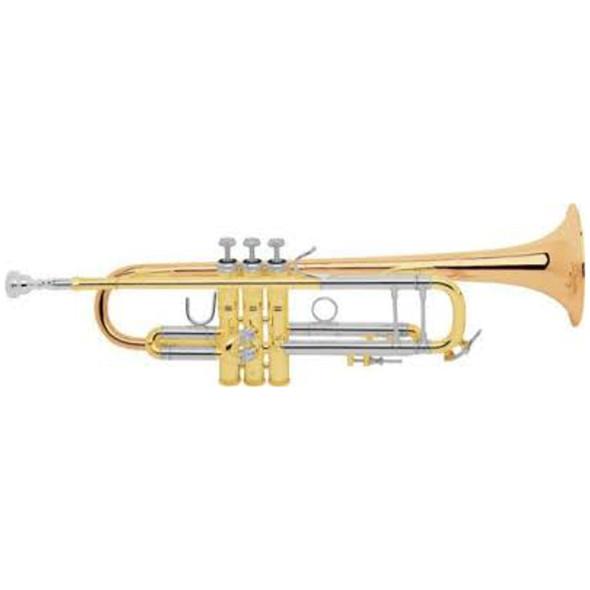 Bach 180 Standard Trumpet w/ Gold Brass Bell