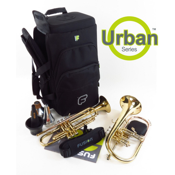 Fusion Urban Triple Trumpet- Black