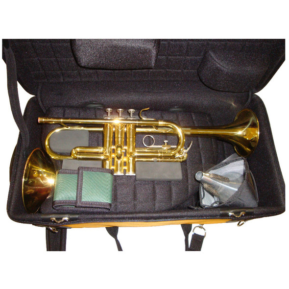 Marcus Bonna Trumpet and Flugel Case- Black
