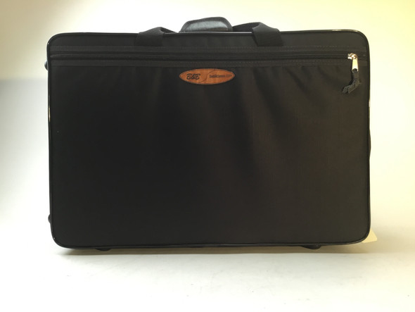 Basili Cases Double Trumpet and Flugelhorn cases in black nylon