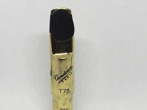 Used Vandoren T75 Metal Tenor Sax Mouthpiece [858]
