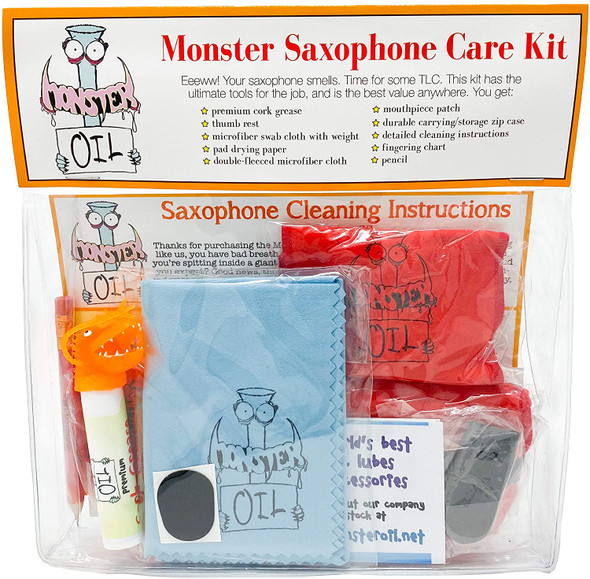 Monster Oil Saxophone Care Kit