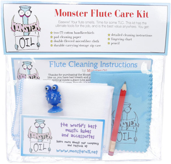 Monster Oil Flute Care Kit