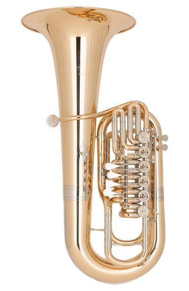 MIraphone F481-6V (4+2) Gold Brass F Tuba