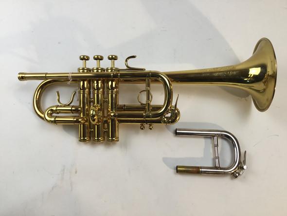 Used Benge USA Eb/D Trumpet (SN: 43441963)