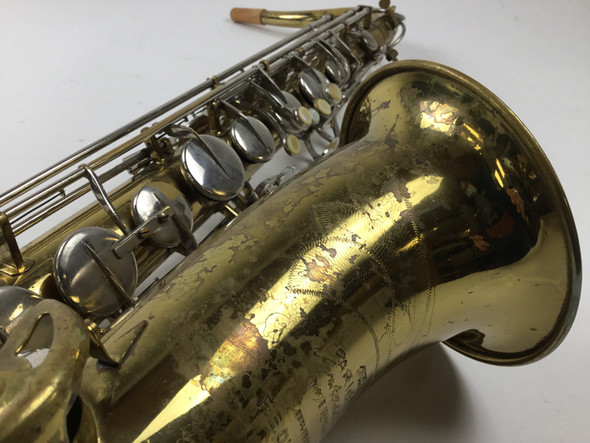 Used F.E. Olds Parisian Bb Tenor Saxophone [260]
