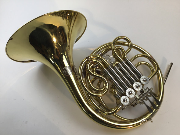 Used Alexander model 1103 F/Bb double French horn (SN: 5383)