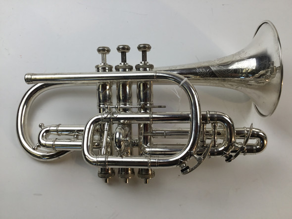 Used Henri Gautier Virtuoso model Bb/A Cornet (SN: 98)