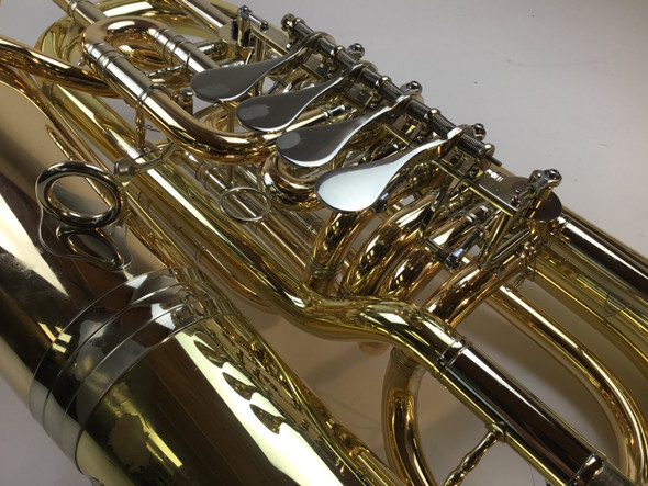 Used B&S 5099/2W F tuba (SN:395698)