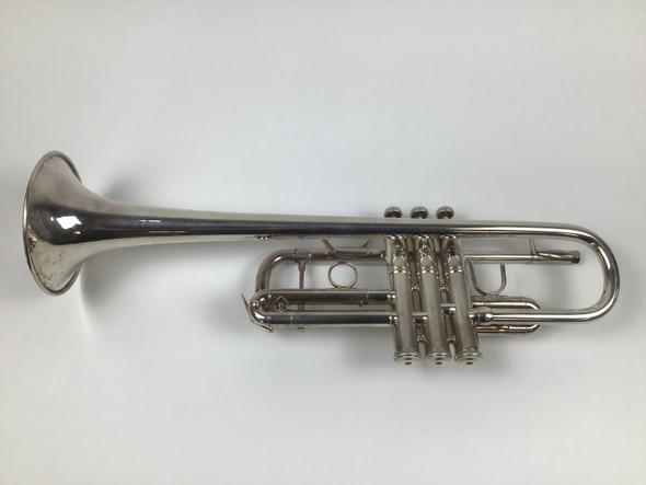 Used Bach 229 w/Osmun #109 leadpipe C Trumpet (SN: 654263)