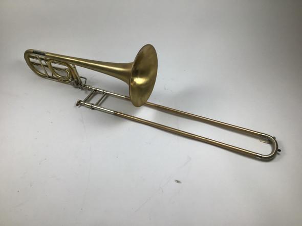 "Used Conn ""Elkhart"" 72H Bb/F Bass Trombone (SN: K27505)"