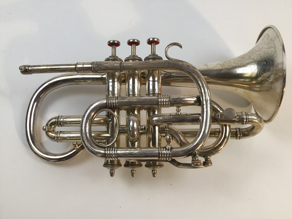 Used Marceau Antique Bb Cornet Kaderabek Collection (20827)