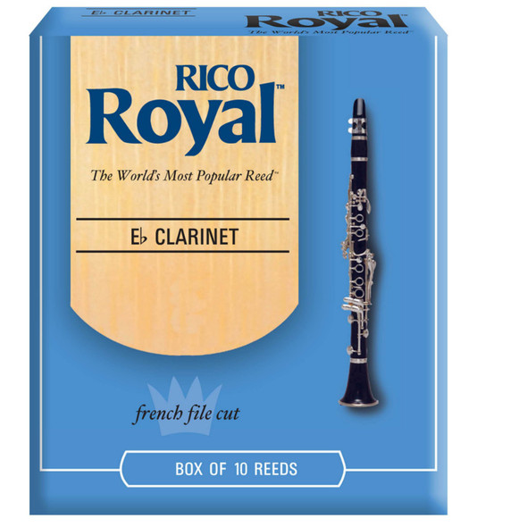 Rico Royal E-Flat Clarinet Reeds, Strength 10 pack